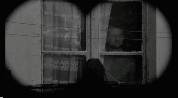 Still from film of Satantango