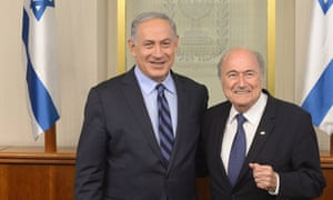 Sepp Blatter Netanyahu