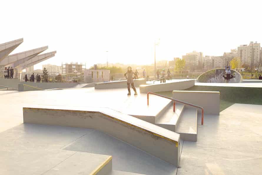 Tehran skate park