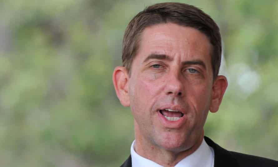 Queensland health minister Cameron Dick.
