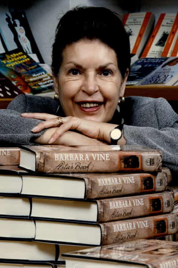 Ruth Rendell, pictured in the early 1990s, had a sideline in psychological novels published under the pseudonym Barbara Vine.