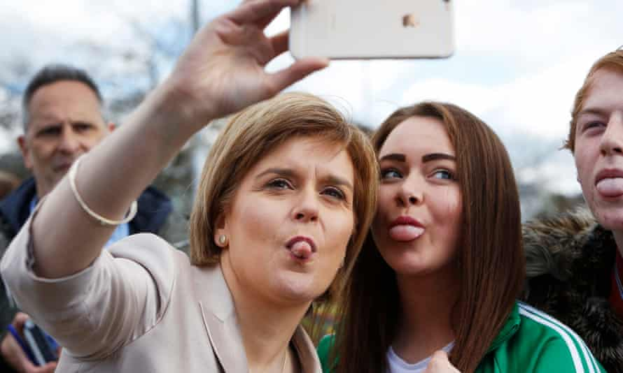 Scant coverage has been given to Nicola Sturgeon's proficiency with camera phones, in evidence on Saturday.