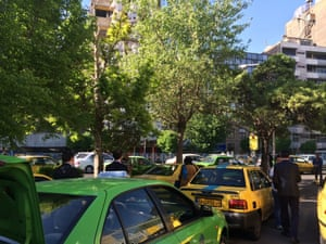 Tehran taxi terminal