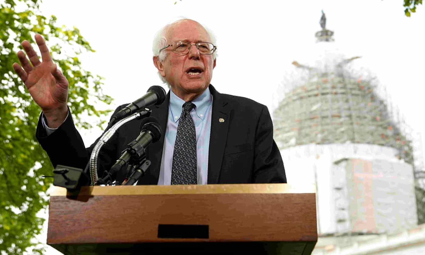 Bernie Sanders raises $1.5m and gains 100,000 supporters in a day