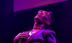 Grace Jones performing in September 2014.