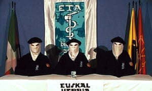 Still from a video released by Eta in 2006 announcing a permanent ceasefire.
