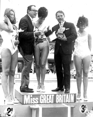 Morecambe and Wise presenting Miss Great Britain 1965