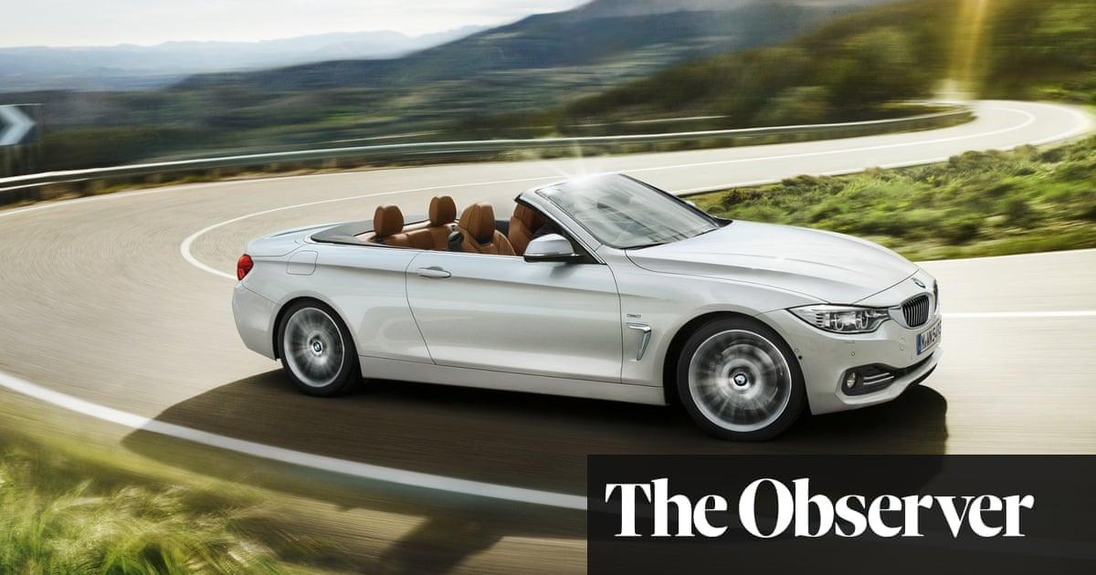 Bmw 4 Series Convertible Car Review Motoring The Guardian