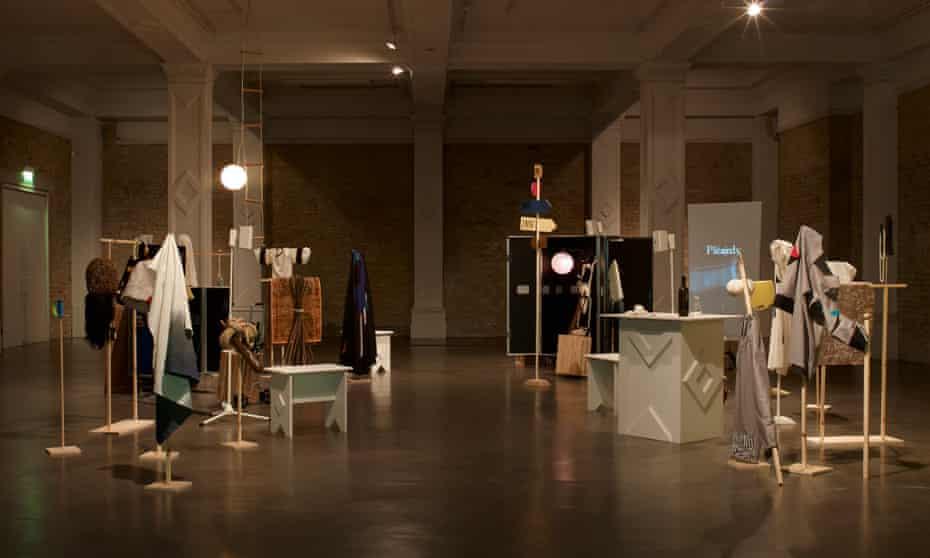 Corin Sworn's installation Silent Sticks, winner of the Max Mara art prize for women.
