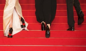 """Emily Blunt was among those to criticise Cannes' alleged """"no flats"""" rule."""