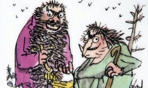 What a bilious beard! Can you make one as horrid as Mr Twit's?