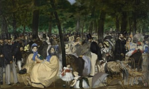 Edouard Manet: Music in the Tuileries Gardens