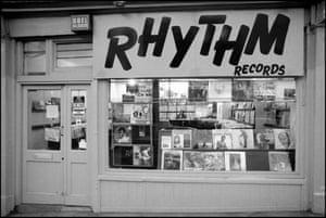 Rhythm Records 281 Camden High Street, London, 1984