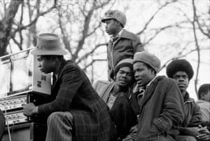 Reggae fans in London 1977