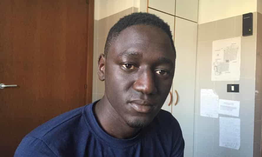 Samba Kamar, one of 28 survivors from the Mediterranean's deadliest modern shipwreck