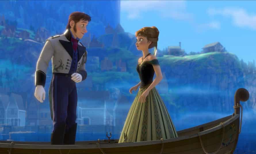 Gargantuan success … Frozen.