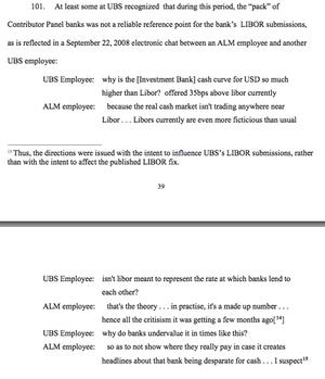 Transcript of UBS FX case
