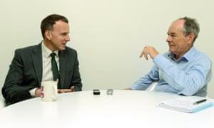 In conversation: Professor Edward Glaeser and Sir Simon Jenkins.