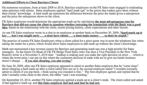 NYDFS statement on Barclays FX rigging