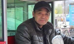 Mr Han, 66, has lived in Baoding his whole life.