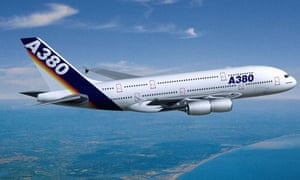 Wings for the A380 are made in the UK.