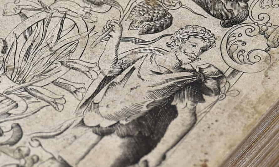 Image reported to be that of playwright William Shakespeare from a 16th century book about plants