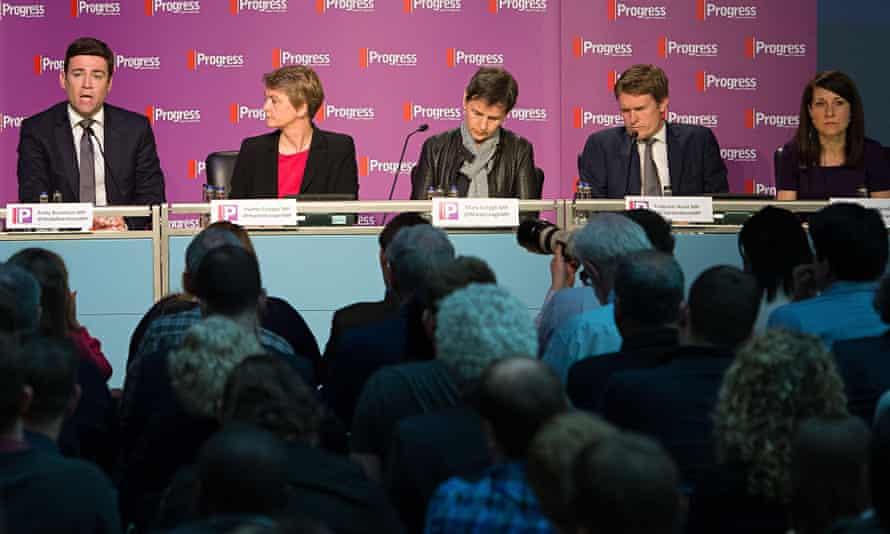 Labour leadership contenders at Progress