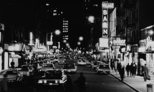 New York's Greenwich Village in 1965: hub of the city's 'alternative' economic activity.