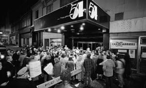 Manhattan's legendary nightclub, Studio 54.