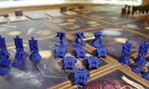 Forbidden Stars Space Marine troops