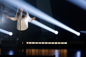 Cast in her own light: Lorde performs Royals at the 2013 Grammy nominations concert.
