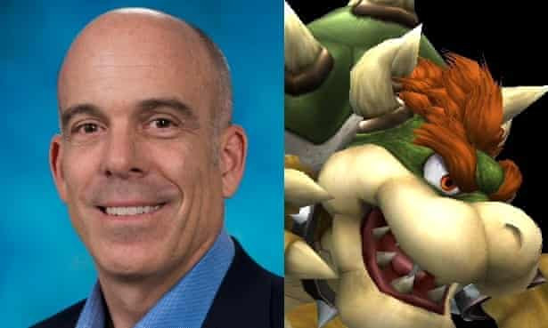 Bowser (L) and Bowser (R)