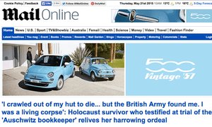 Mail Online: revenues increased by 20% to £36m