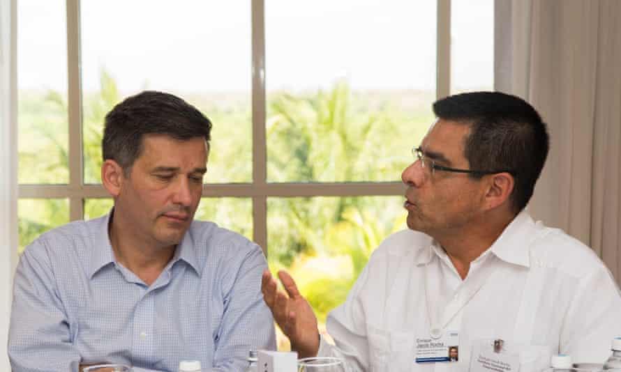 Andrés Peñate and Enrique Jacob Rocha