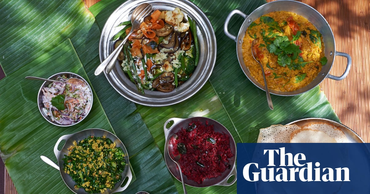 Get hands on with this keralan thali recipe for six feasting get hands on with this keralan thali recipe for six feasting food the guardian forumfinder Images