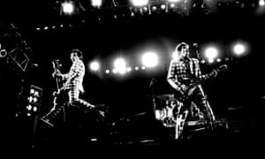 The Replacements on stage in 2013.