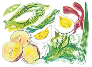 A big bowl of salad nicoise