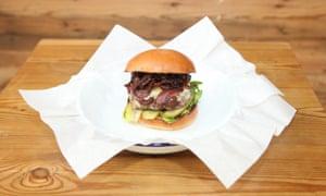 The signature 'honest' burger from Honest Burgers.