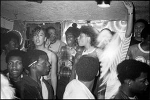 Sir Jules, Sound Table at Gossips, Dean Street, London, UK 1982