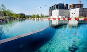 'Of soil and water: King's Cross Pond Club' is part swimming pool, part art installation