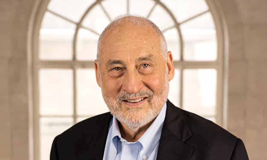 Joseph Stiglitz: 'We have to make sure the benefits of growth are shared more equally.'