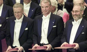 George Akerlof, Michael Spence and Stiglitz receive the Nobel prize for economics.