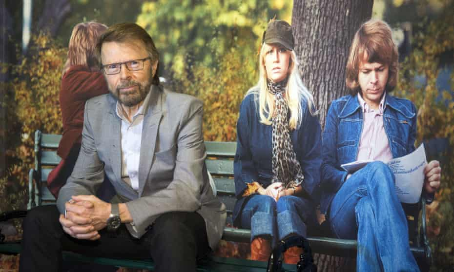 Bjorn Ulvaeus at the inauguration of the Abba museum