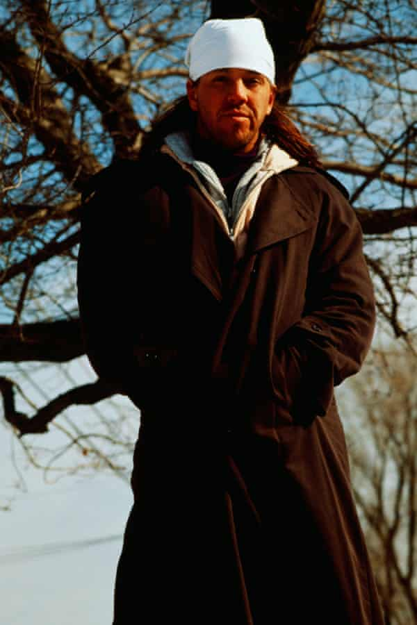 Foster Wallace photographed circa 1996.