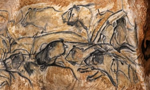 The full-size reproduction of Chauvet cave, an underground environment identical to the original that contains the world's oldest known cave paintings, on March 20, 2015 in Vallon Pont d'Arc,France. The Chauvet-Pont d'Arc cave is oldest known decorated cave in the world, featuring prehistoric wall paintings, engravings and hand prints that are believed to be around 36,000 years old.