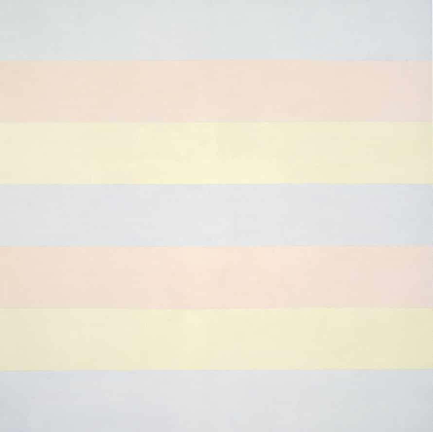 Untitled 5 1998, by Agnes Martin