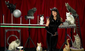 Samantha Martin and the Amazing Acro-Cats