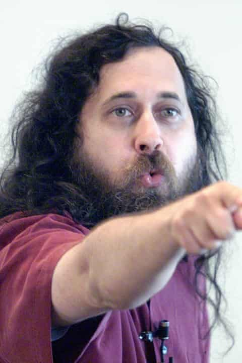 Richard Stallman developed the GNU operating system in the 80s.