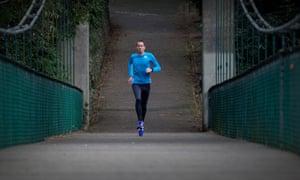 Steve Way, ultra runner, possessor of poor running form and loather of running laundry