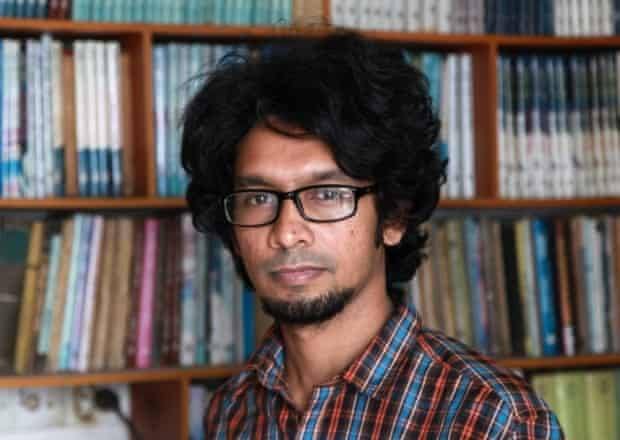 Ananya Azad, who left his job as a newspaper columnist and stopped writing his blog.